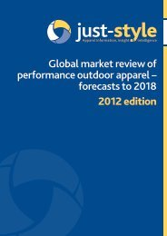 Global market review of performance outdoor apparel - Just-Style.com