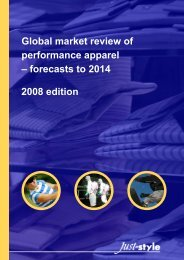 Global Market Review Of Performance Apparel - Just-Style.com