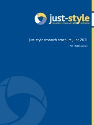 just-style research brochure June 2011 - Just-Style.com