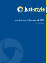 just-style research brochure July 2011 - Just-Style.com