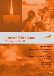 Linzer Bibelsaat 103 (pdf 8 MB - Diözese Linz