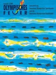 Ausgabe 3/2009 - Deutsche Olympische Gesellschaft