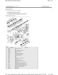 Page 1 of 5 2000 Mustang Workshop Manual 8/11/2009 http://www ...