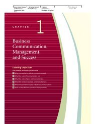 Business Communication, Management, and Success - JustAnswer