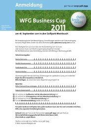 am 16. September 2011 in den Golfpark Meerbusch Anmeldung ...