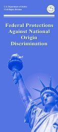 Federal Protections Against National Origin Discrimination (pdf)