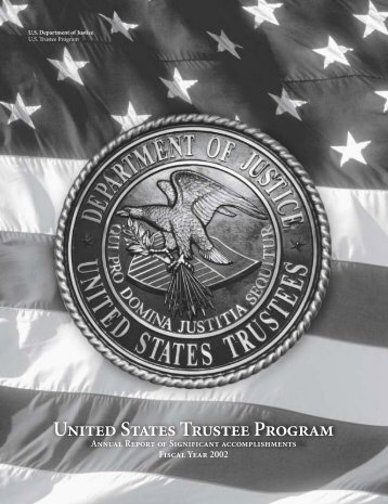 United States Trustee Program - Department of Justice