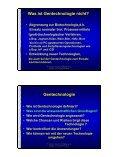 Gentechnologie Segen oder Fluch ? - Seite 4