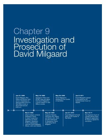 Chapter 9 Investigation and Prosecution of ... - Ministry of Justice