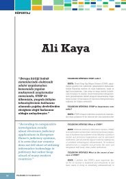 Ali Kaya - Ministry of Justice