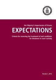Expectations - Criteria for assessing the ... - Ministry of Justice