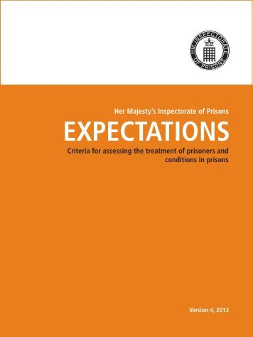 Prison expectations