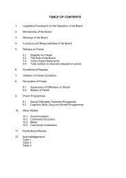 Annual Report 2006-07 - Tasmanian Department of Justice
