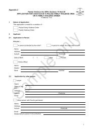 Application for Variation or Revocation of a Police Family Violence ...