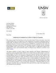 Submission 56 Byrne et al - Tasmanian Department of Justice