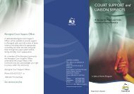COURT SUPPORT and LIAISON SERVICES - Tasmanian ...