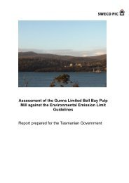 SWECO PIC Report - Tasmanian Department of Justice