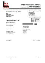 Wertermittlung KFZ - Justiz Auktion