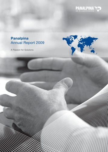 Panalpina Annual Report 2009