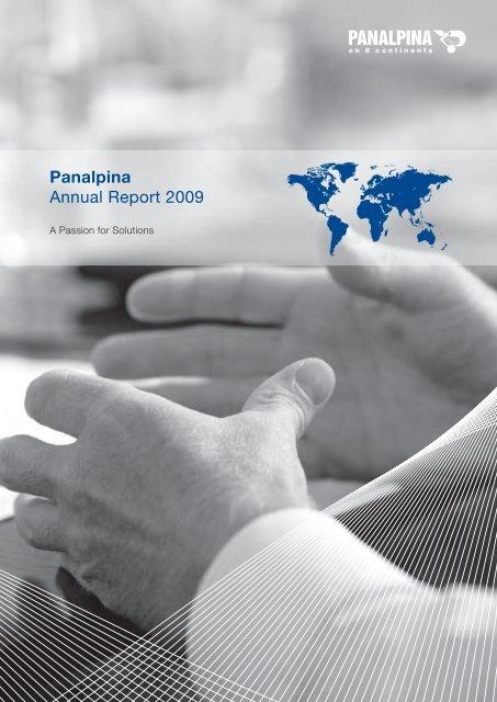 Panalpina Annual Report 2009