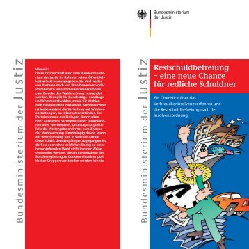 Restschuldbefreiung - Justiz in Sachsen