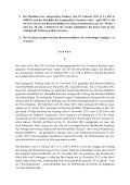 DER VERFASSUNGSGERICHTSHOF DES ... - Justiz in Sachsen - Page 2