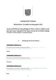 Geschäftsverteilung 2014 [Download,*.pdf, 69,08 ... - Justiz in Sachsen