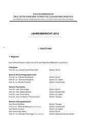 Jahresbericht der Fachkommission 2012 - Kanton Zürich