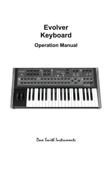 Evolver Keyboard - Just Music