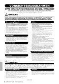 Bedienungsanleitung - Yamaha - Seite 6
