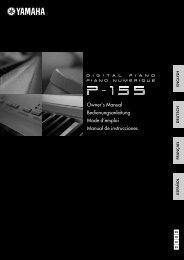 Bedienungsanleitung - Musik Produktiv