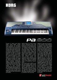 Dünyanin en basarili ritmli klavyesi Pa80in veliahti ... - Just Music