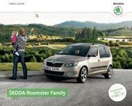 ÅkodaRoomster Family Katalog inkl. Preise ... - DHT Automobile