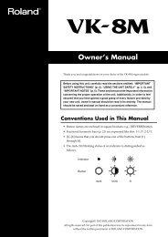 Owner's Manual - Just Music