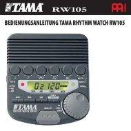 Bedienungsanleitung TAMA Rhythm Watch RW105