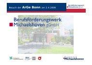 Ziel - Diakonie Michaelshoven