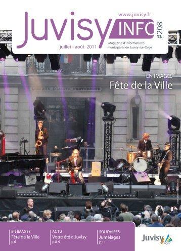 INFO #208 - Ville de Juvisy-sur-Orge