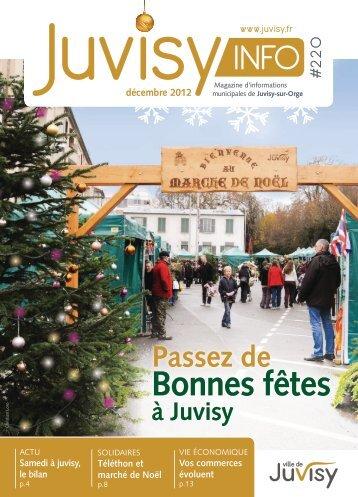 décembre 2012 - Ville de Juvisy-sur-Orge