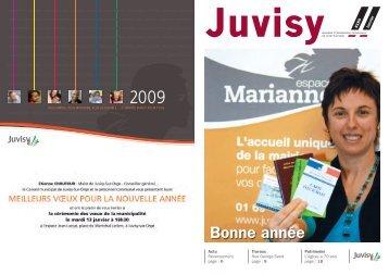 Bonne année - Ville de Juvisy-sur-Orge