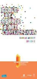 CAMILLE LAMBERT 2011/2012 - Ville de Juvisy-sur-Orge