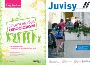 septembre 2008 - Ville de Juvisy-sur-Orge