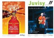 juillet-août 2009 - Ville de Juvisy-sur-Orge