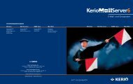 Ein Datenblatt zum Kerio Mailserver finden Sie hier - Competence