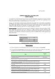 conseil municipal du 29 septembre 2008 - Ville de Juvisy-sur-Orge