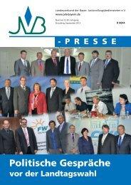 September 2013, Nr. 5 - JVB Landesverband der Bayerischen ...