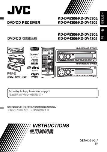 Jvc kd G632 Service manual