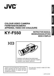 KY-F550 - JVC Professional Europe