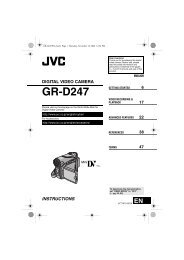 (Manual) JVC GR-D247 - ABC Products
