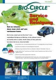Service und Reinigung - Bio-Circle