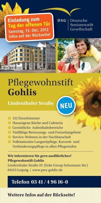 Eröffnung in Leipzig-Gohlis!